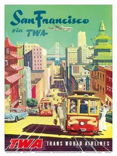 Vintage Travel Poster Switzerland multi city world travel. vintage travel poster San Francisco travel poster, v. Auto Poster, Poster S, Poster Prints, Wall Prints, Retro Airline, Airline Travel, Vintage Airline, Sf Travel, Travel Tips