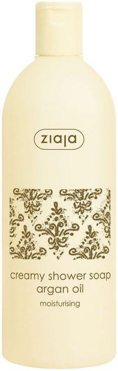 Arganöl-Duschcreme. Wäscht mild die Haut und spendet Feuchtigkeit. Enthält nährende Wirkstoffe. Pflegt sanft, verursacht keine Irritationen. ANWENDUNG: Auf die angefeuchtete Haut auftragen, aufmassieren und abspülen.