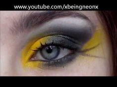 Yellow & Black Hufflepuff Harry Potter Makeup Tutorial