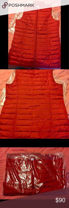 J.Jill. Puffer Vest True Red Lexington Down Puffer Vest J.Jill Jackets & Coats Vests