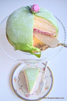 Tortul Printeselor Prinsesstarta (31)1 Watermelon, Panna Cotta, Sweets, Fruit, Ethnic Recipes, Desserts, Food, Cakes, Sweet Pastries