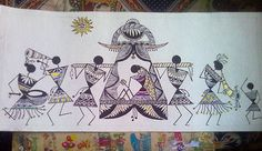 Warli Art by Mrinaal