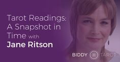 Astrologer Jane Ritson joins the blog today to talk about how Tarot readers can use astrological life cycles to provide better Tarot readings. Check out her thoughts on this fascinating topic at www.biddytarot.com/snapshot-in-time.