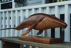 Billy Rowe, Whale http://www.nantucketwoodcarving.com