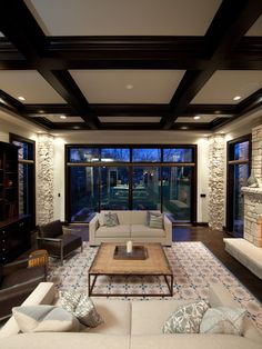 1000 Images About Coffered Ceilings On Pinterest