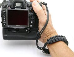 """The """"cordy pro"""" paracord dslr camera wrist #strap - #handmade by #cordweaver,  View more on the LINK: http://www.zeppy.io/product/gb/2/251716270082/"""