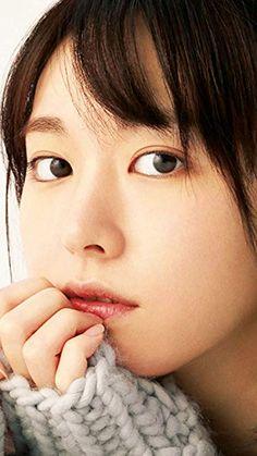 新垣結衣  iPhone/Androidスマホ壁紙(540×960)-1 - mina(ミーナ) 2017年 12 月号 ニットを着て口元に手を当てる You Are Beautiful, Beautiful Eyes, Beautiful Women, Prity Girl, Kawaii Faces, Japan Woman, Celebrity Faces, Japanese Beauty, Asian