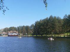 Lake on a mountain..