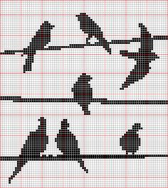 Thrilling Designing Your Own Cross Stitch Embroidery Patterns Ideas. Exhilarating Designing Your Own Cross Stitch Embroidery Patterns Ideas. Cross Stitch Bird, Small Cross Stitch, Cross Stitch Animals, Cross Stitch Charts, Cross Stitch Designs, Cross Stitching, Cross Stitch Embroidery, Embroidery Patterns, Cross Stitch Patterns