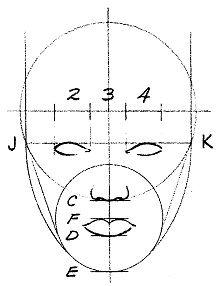 Как нарисовать голову и лицо человека?