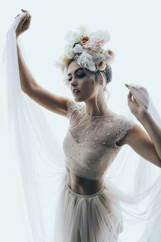 A gorgeous wedding editorial by Creating Beautiful featuring Steph Claire Smith in One Day Bridal, Georgia Young Couture and Grace Loves Lace.
