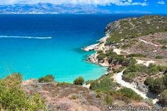 """If you're saying you have the """"blues"""" while in Mirabello Bay, Crete, Greece, you've got to be talking about the various gorgeous blues of the water right?"""