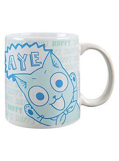 Fairy Tail Happy Aye Mug,