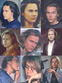 River Phoenix Long Hair