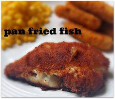 The Food Hussy!: Food Hussy Recipe: Fried Fish (Cod)
