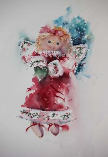 Watercolours With Life: The Christmas Angel