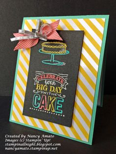 SU! Big Day stamp set; Coastal Cabana and Basic Black cardstock; Irresistibly Yours DSP; Daffodil Delight, Tuxedo Black Memento and Versamark stamp pads; white embossing powder; Coastal Cabana, Calypso Coral and Daffodil Delight Blendabilities - Tania Brzovic