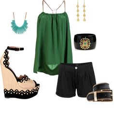 Green with envy :), created by jennifervoskuhl on Polyvore