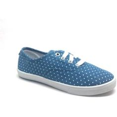 Faded Glory Girls' Lace-Up Canvas Casual Shoe - Walmart.com
