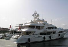 Yacht at the Porto Rotondo - Costa Smeralda - Sardinia