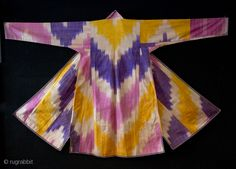 Uzbek Ikat Coat , Early 20th c.