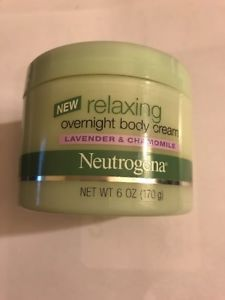 Neutrogena Relaxing Overnight Body Cream Lavender & Chamomile 6 oz NEW HTF Epsom Salt Lotion, Lip Balm Brands, Dry Body Brushing, Nude Makeup, Lush Products, Beauty Must Haves, Summer Skin, Body Wraps, Skin Firming