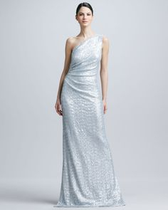 http://docchiro.com/carmen-marc-valvo-oneshoulder-sequined-ruched-gown-p-1044.html