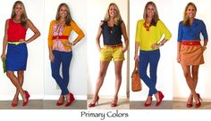 Flashback Friday: Five Winning Color Combos — J's Everyday Fashion