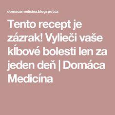 Tento recept je zázrak! Vylieči vaše kĺbové bolesti len za jeden deň | Domáca Medicína Nordic Interior, Lens, Vase, Health, Medicine, Salud, Anatomy, Health Care, Flower Vases