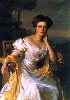 H.R.H. Princess Andrew of Greece, née Princess Alice of Battenberg  Philip Alexius de László - 1907