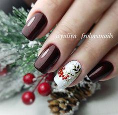 Xmas Nail Art, Xmas Nails, Holiday Nails, Christmas Nails, Chic Nails, Trendy Nails, Autumn Nails, Winter Nails, Nails Now