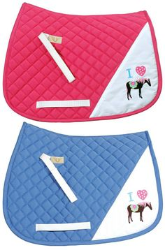 Tuffrider I Heart Pony Saddle Pad - Super cute pony pad in a loving pony design. Horse Supplies, Pet Supplies, Pony Saddle, Cute Ponies, English Saddle, Saddle Pads, Horse Tack, Horse Stuff, Equestrian