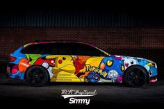 Pokemon Go fans are going to love this new wrap from the @mekwrapsquad team…