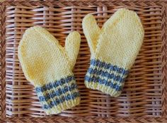 marianna's lazy daisy days: Toddler Mittens