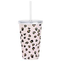 Accessories // Acrylic Tumbler Cup #Girlboss #Bossbabe #Trendy #Cute #animalprint #Graphic #Blogger #Fall2017 #boss #gift #fashion Acrylic Tumblers, Acrylic Material, Tumbler Cups, Bossbabe, Cute Pink, Fun Drinks, Cheetah Print, Blush Pink