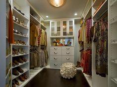 charming closet lighting idea