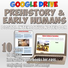 Civil rights movement google drive interactive notebook google prehistoric man activities in a google drive digital notebook 10 awesome pages of interactive resources fandeluxe Image collections