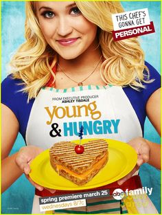 #YoungAndHungry I fell in love with Emily Osment when she stared in Hannah Montana and I even love her even more now in this show!