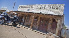 Pioneer Saloon in Goodsprings exterior entrance
