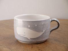 クジラのスープカップ
