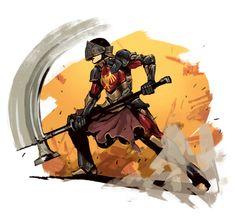 Robot Knight by regourso.deviantart.com on @DeviantArt