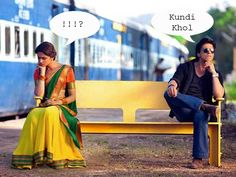 On the sets of his movie Chennai Express, Shah Rukh Khan was laughed at, when he said 'Kundi Khol'. Kundi in Hindi means latch and that's what King Khan meant but in Tamil it means bum... yikes! Since then the actor has taken to learning Tamil so that he doesn't make any such boo-boos in future. Check out other celebrities who are learning new languages these days.Don't Miss: 7 Bollywood Actresses in Bengali FilmsImage courtesy: BCCLWith inputs Meena Iyer