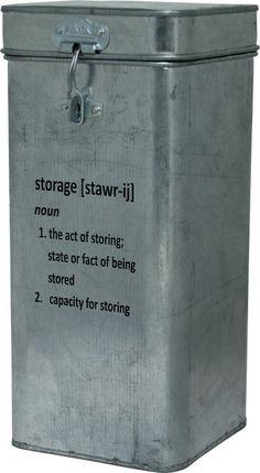 Storage Galvanized Box