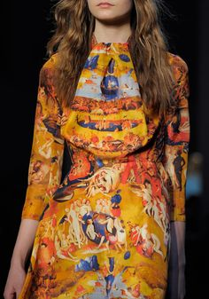 Inspired by a Hieronymous Bosch painting? Carven.