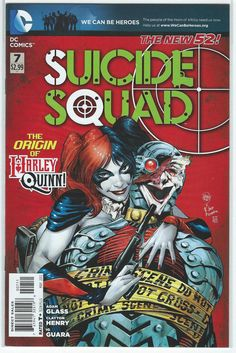 Suicide Squad #7 (Origin of Harley Quinn!) DC Comics The New 52 NM First Print!