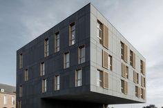 EQUITONE [tectiva]: EQUITONE [tectiva] Belgien - Mortsel - Mehrfamilienhaus