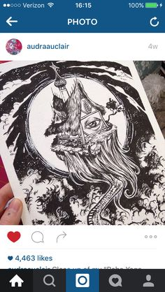 Audra Auclair drawing - fairytale tattoo inspo
