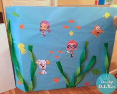 The Daily DIYer: Bubble Guppies Party: Decor