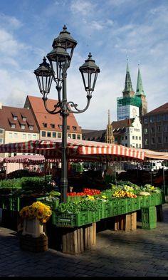 Marketplace, #Munchen, Germany  #travelphotography #travel