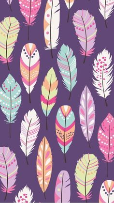 PORTFOLIO — Inga Wilmink - Illustration & Surface Design Inga Wilmink for Emmilove - Feathers fabric Dreamcatcher Wallpaper, Feather Wallpaper, Wallpaper Iphone Cute, Cellphone Wallpaper, Mobile Wallpaper, Pattern Wallpaper, Cute Wallpapers, Wallpaper Backgrounds, Iphone Wallpaper